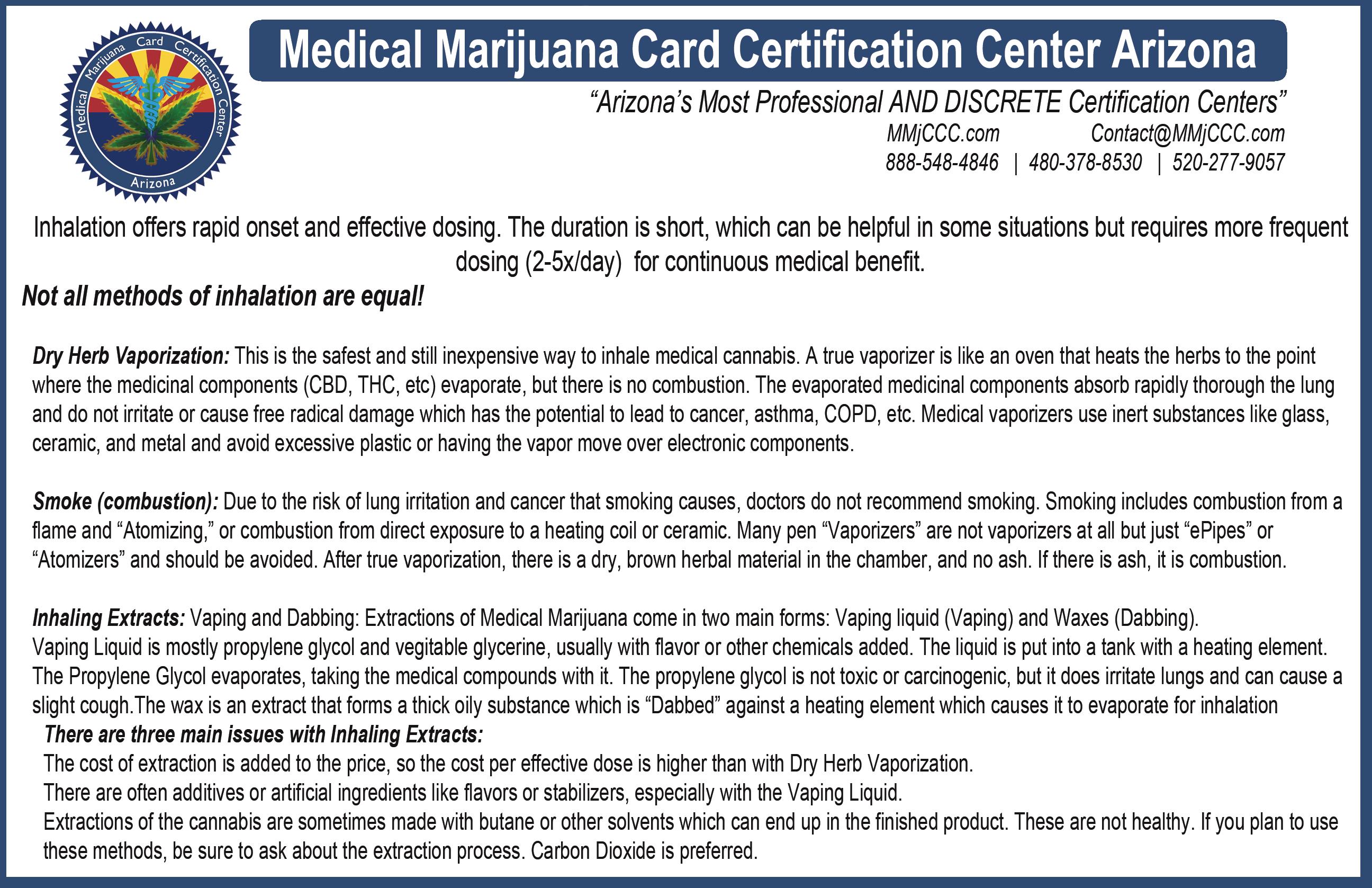 Medical Marijuana Card Certification Center North Phoenix 20045 N