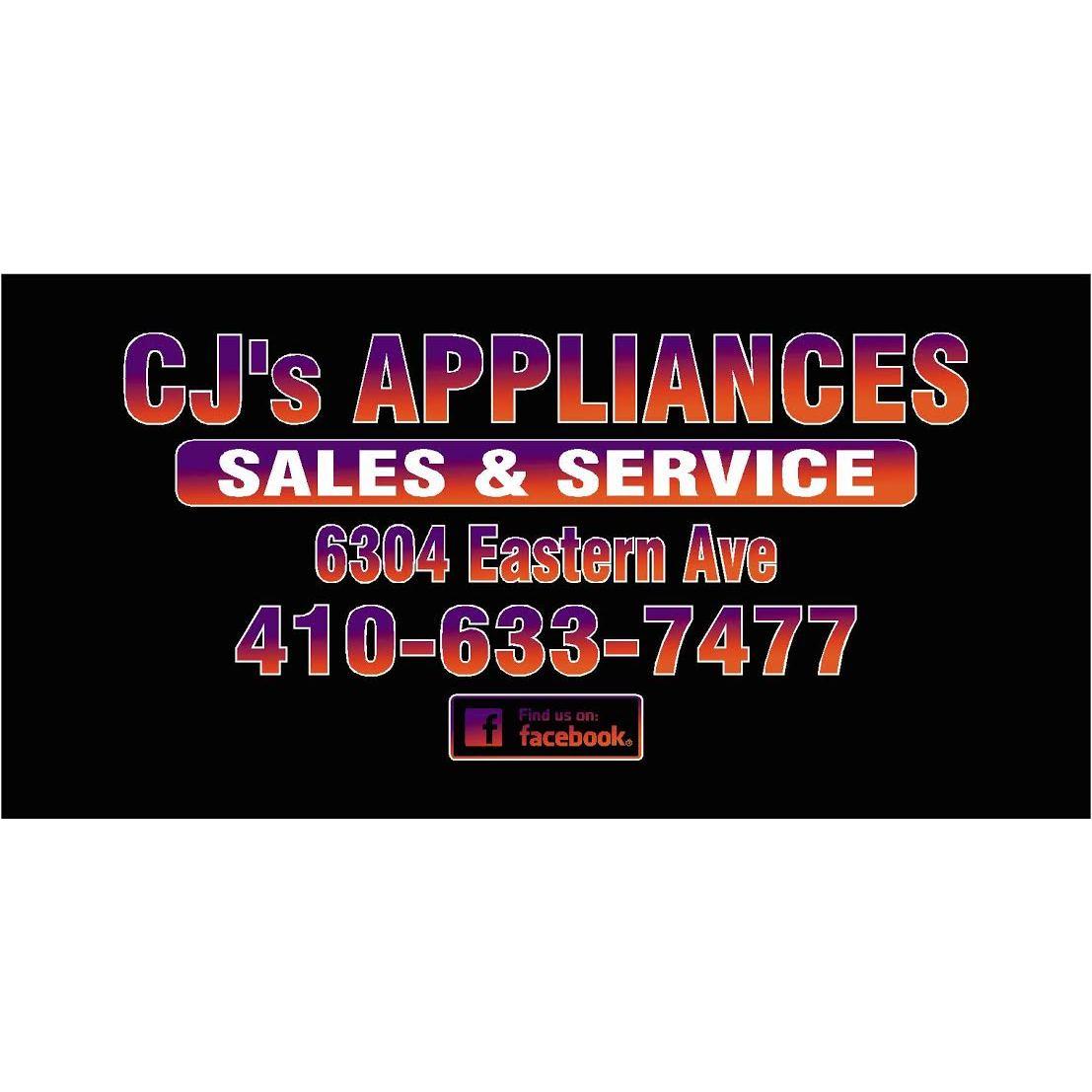 CJs Appliances