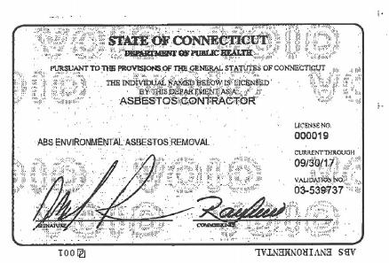 ABS Environmental Asbestos & Lead LLC image 0