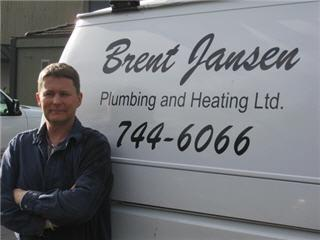 Brent Jansen Plumbing & Heating Ltd in Victoria