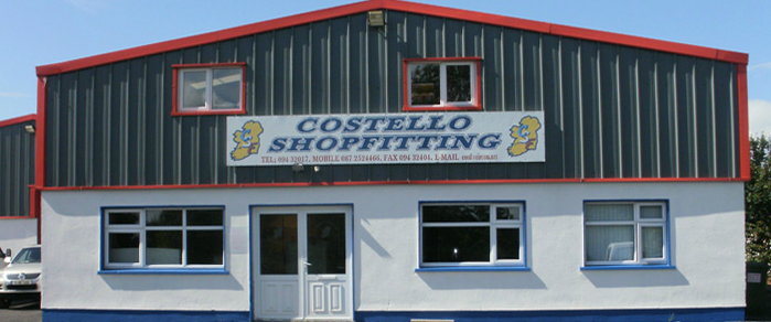 Costello Shop Fitting
