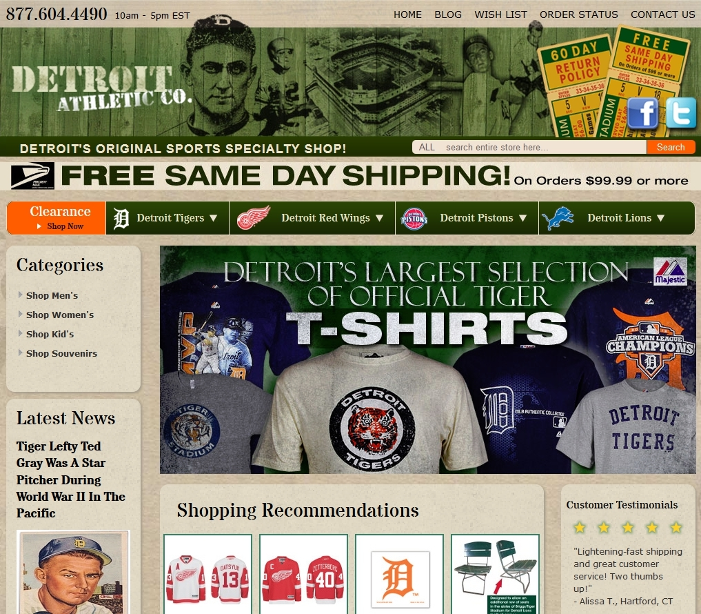 Detroit Athletic Co. image 0