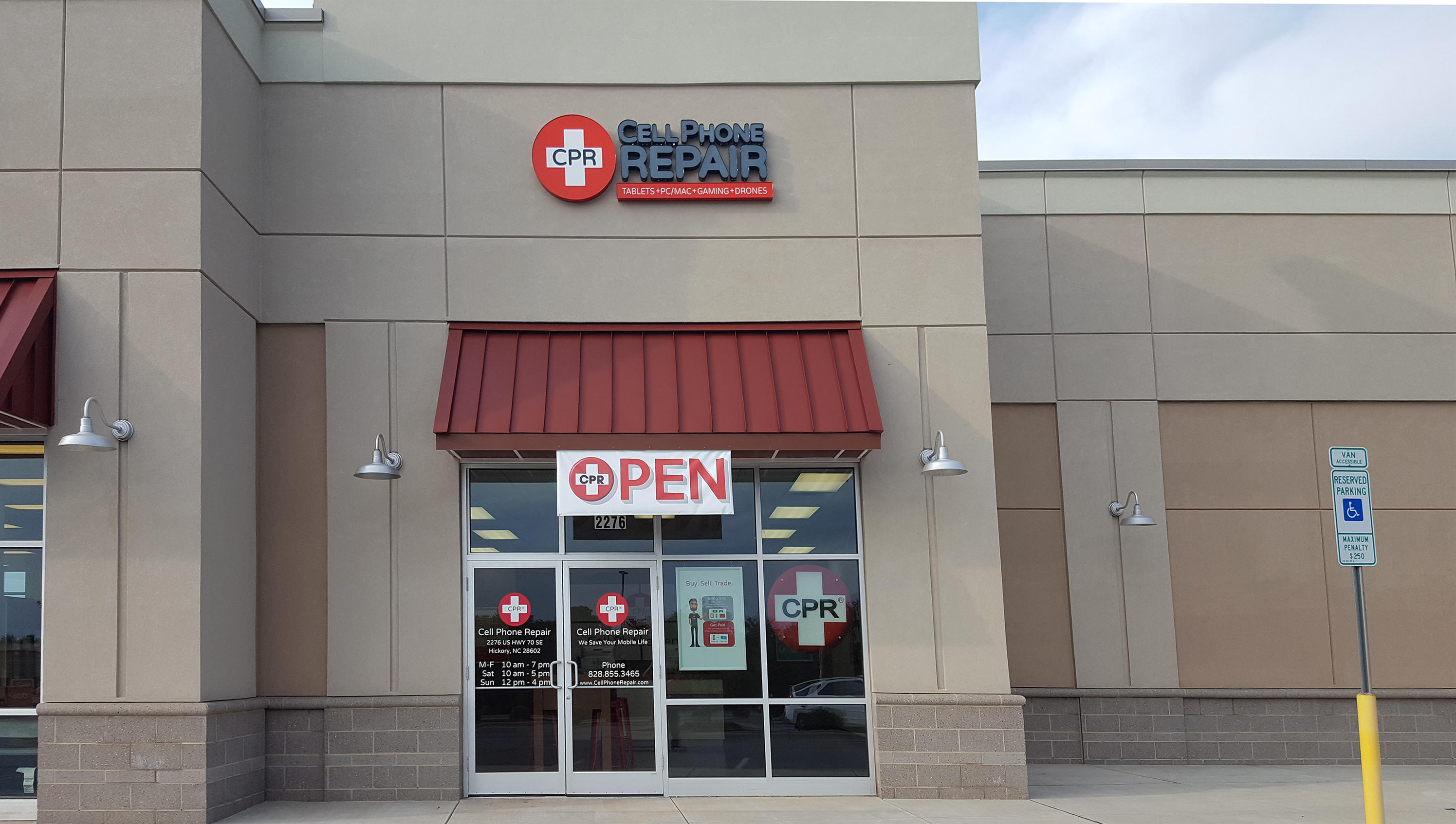 CPR Cell Phone Repair Hickory 2276 US Hwy 70 SE Hickory, NC Cell Phones    MapQuest