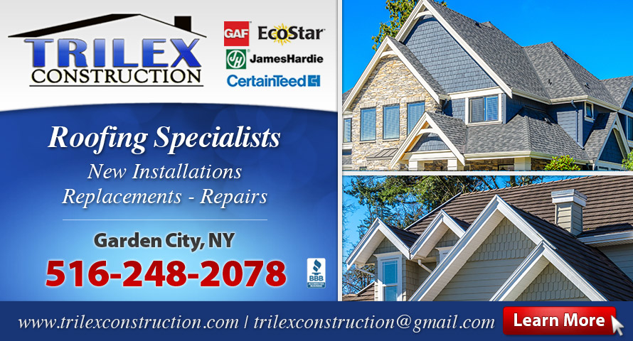 Trilex Construction Corp Garden City NY Metal Roofing