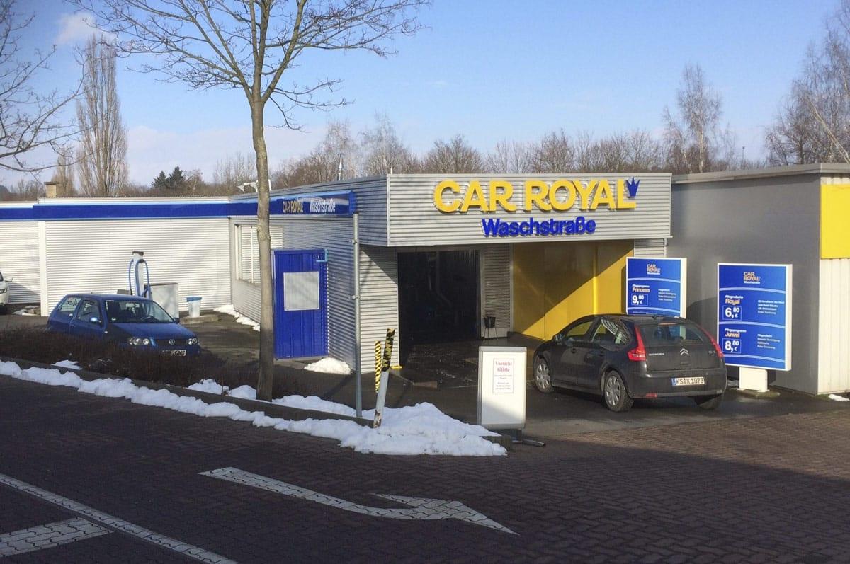 CAR ROYAL Waschstraße Vellmar, Lange Wender 7 in Vellmar