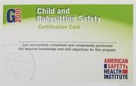 CHILD & BABYSITTING SAFETY CLASS - $70