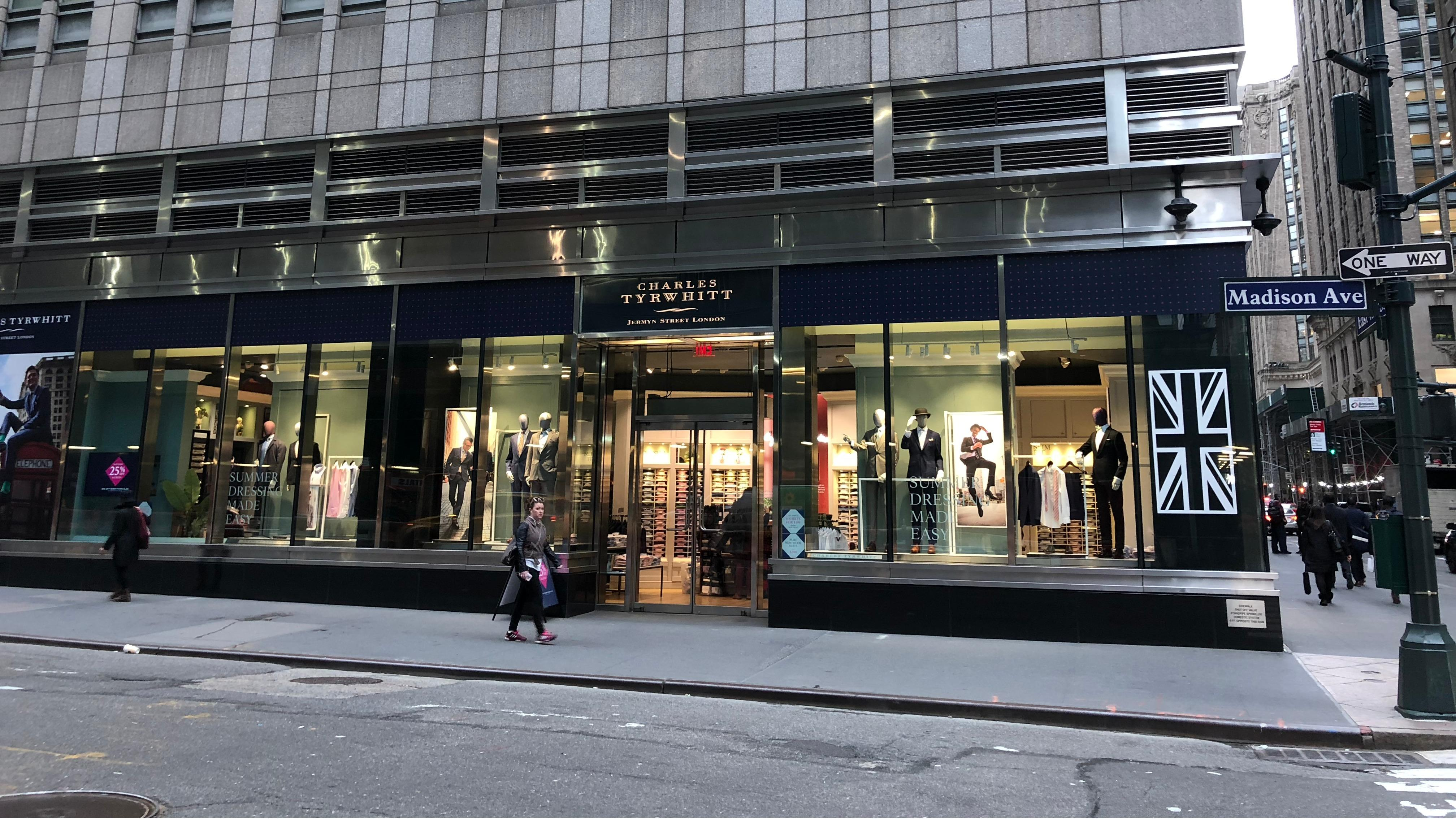 6b9dc954 Madison Avenue, New York store | Charles Tyrwhitt