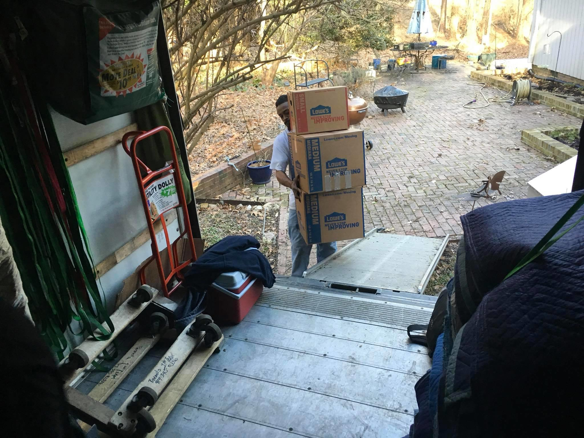 Pannell's 1st Team Moving & Delivery LLC image 1