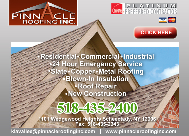Pinnacle Roofing Inc In Schenectady Ny 518 435 2