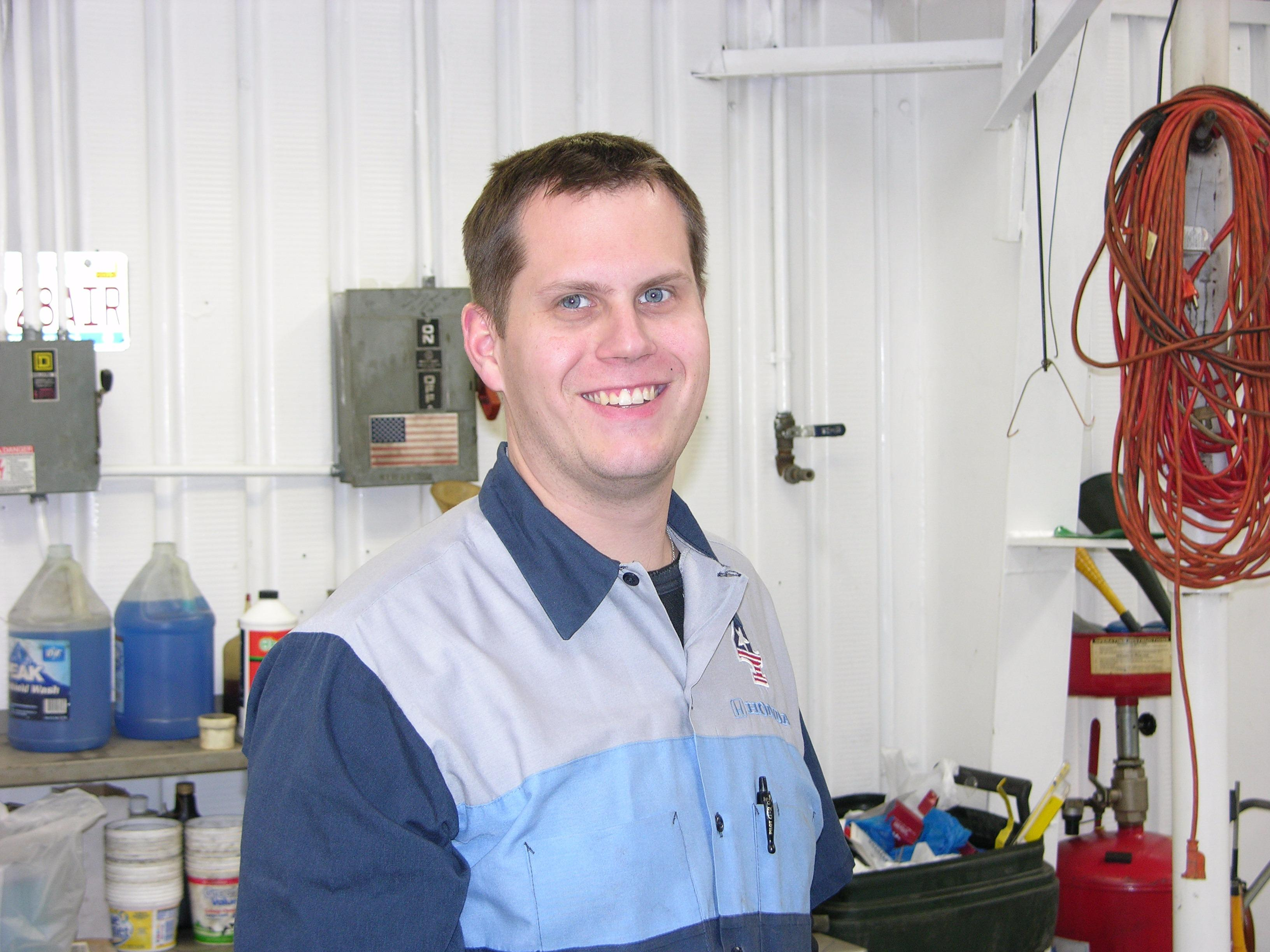 Quinton Is A Past Student Of Tulsa Technology Center Automotive Program. He  Has Always Had A Desire To Be Involved In Automotive World And Began Early  In ...