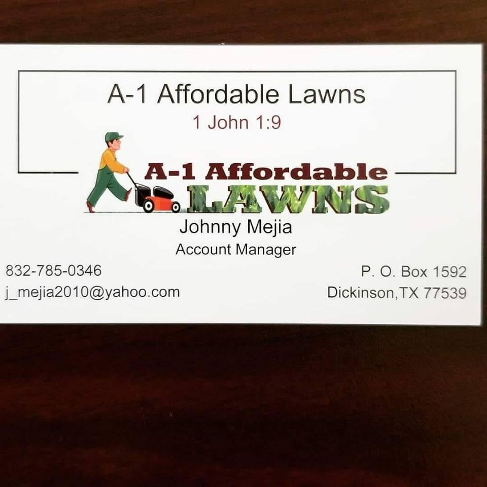 A-1 Affordable Lawns