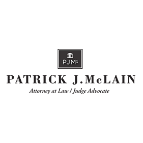 photo of Patrick J. McLain, Judge Advocate and Attorney at Law,