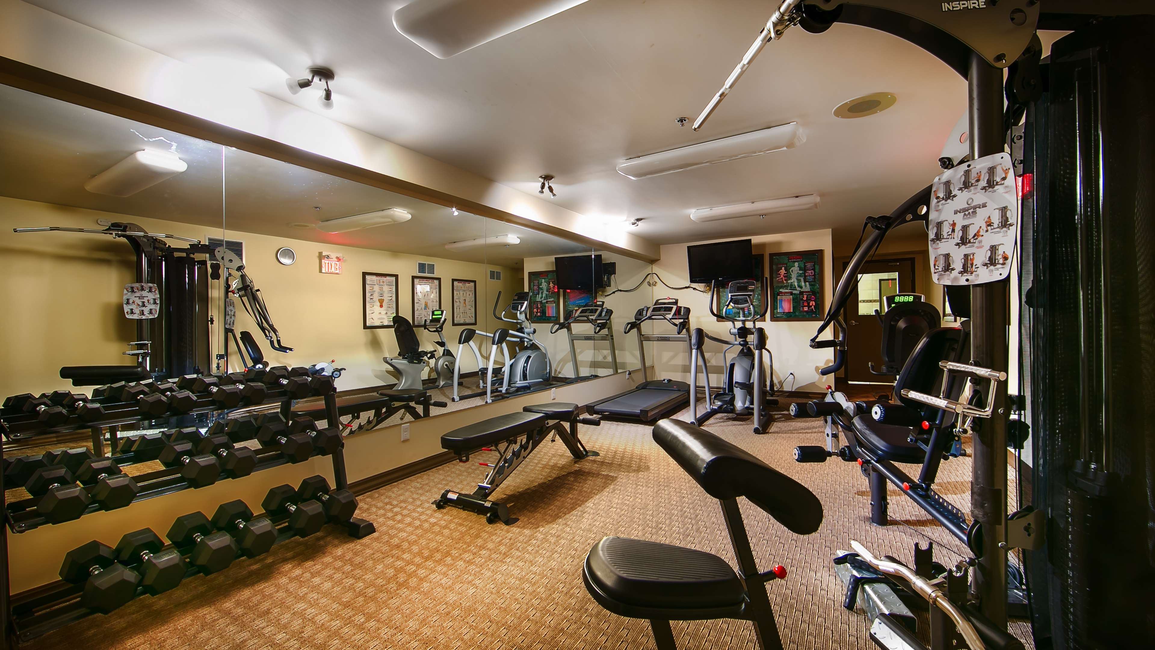 Best Western Plus Baker Street Inn & Convention Centre in Nelson: Fitness Center