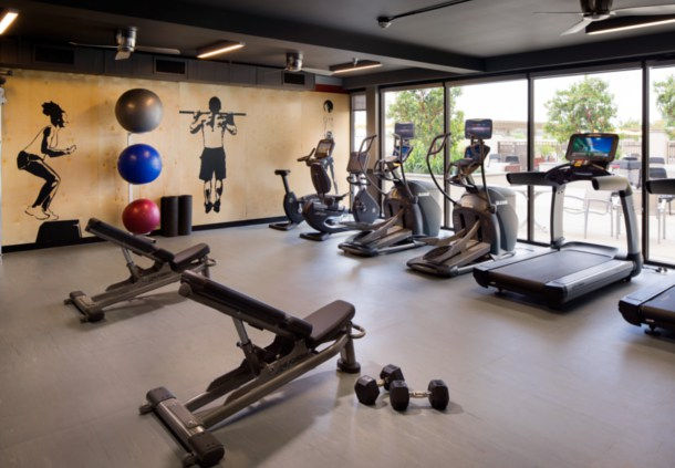 Stay fit in our 24-hour gym featuring the latest equipment.