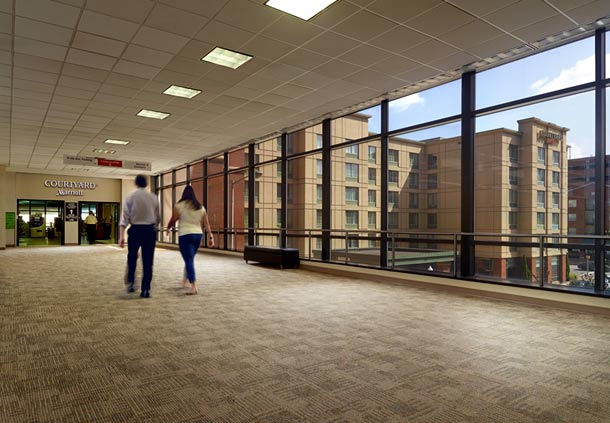 UAB Hospital Access - Our hotel in Birmingham, AL is connected to UAB Medical Center's North Pavilion, making it convenient for family and friends visiting loved ones.