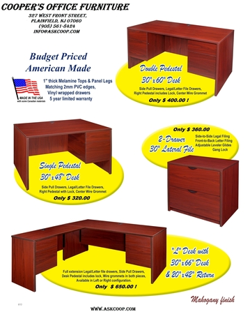 Coopers Office Furniture Plainfield New Jersey 07060