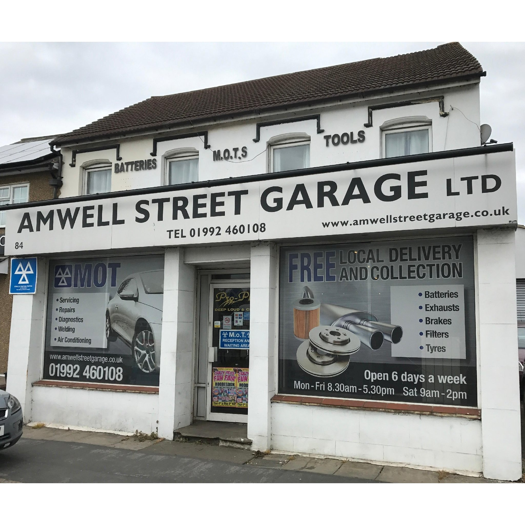 Amwell Street Garage Motor Vehicle Mechanics In