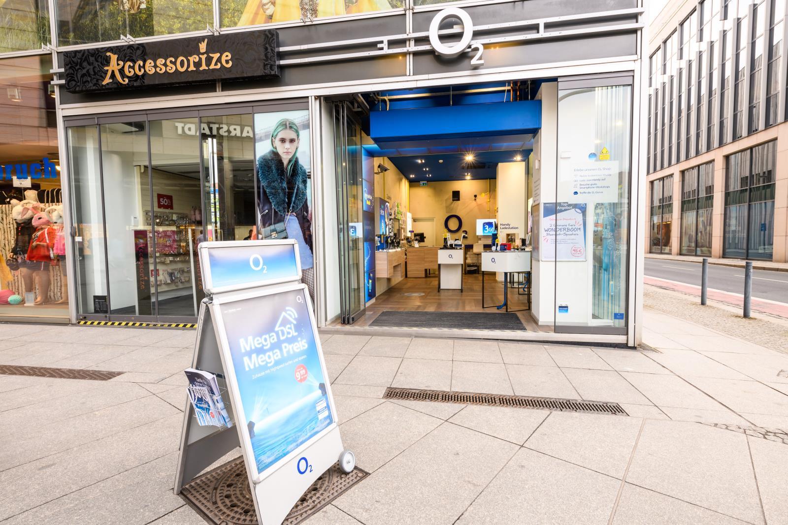 o2 Shop, Waisenhausstr. 8 in Dresden