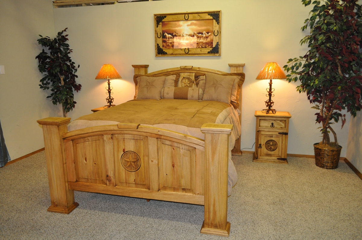 Rustic Bedroom Furniture Texas Furniture Of America Minka Iii - Rustic furniture conroe tx