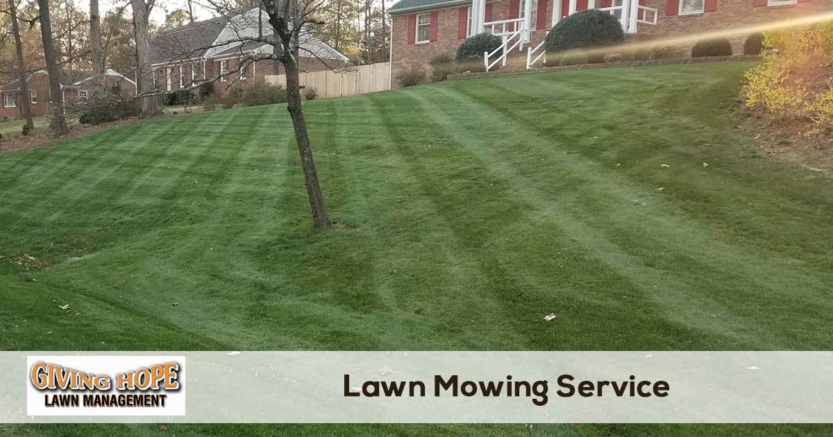 Giving Hope Lawn Management image 0