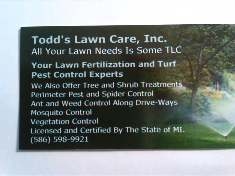 Todd's Lawn Care, Inc.
