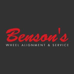 Benson's Wheel Alignment & Service