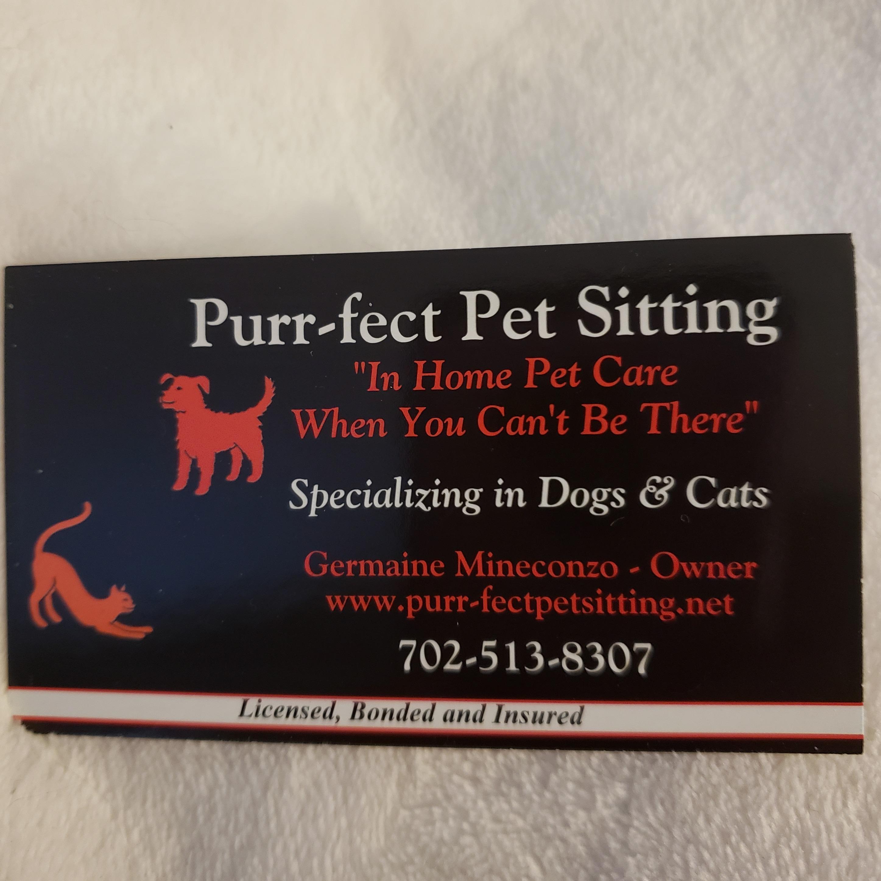 Purr-fect Pet Sitting