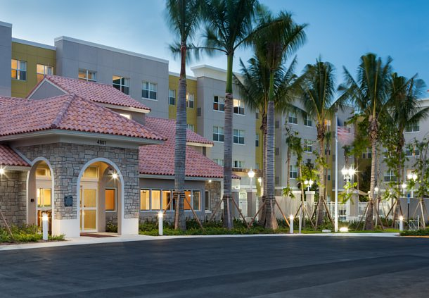 Residence Inn By Marriott Fort Lauderdale Airport Cruise Port 4801 Anglers Avenue Dania