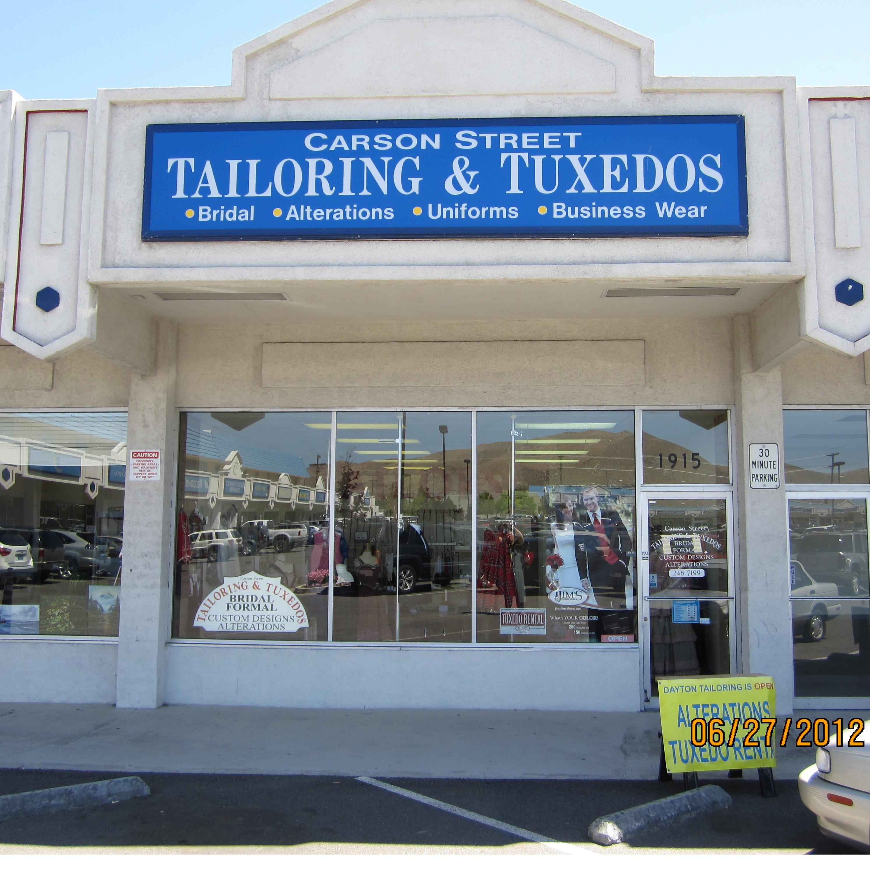 Carson Street Tailoring and Tuxedos