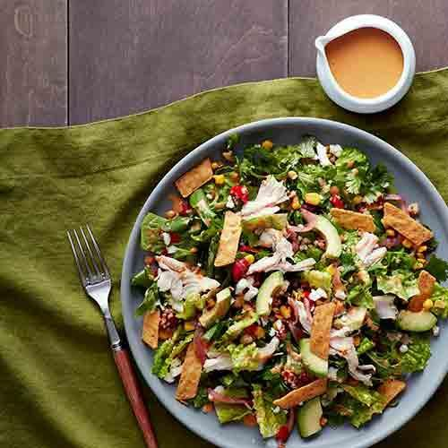 Try the new Southwest Chile Lime Ranch Salad with Chicken.