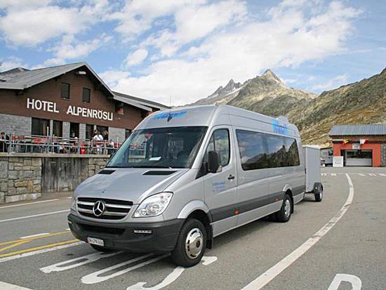 Nüssli AG Carreisen und Transporte