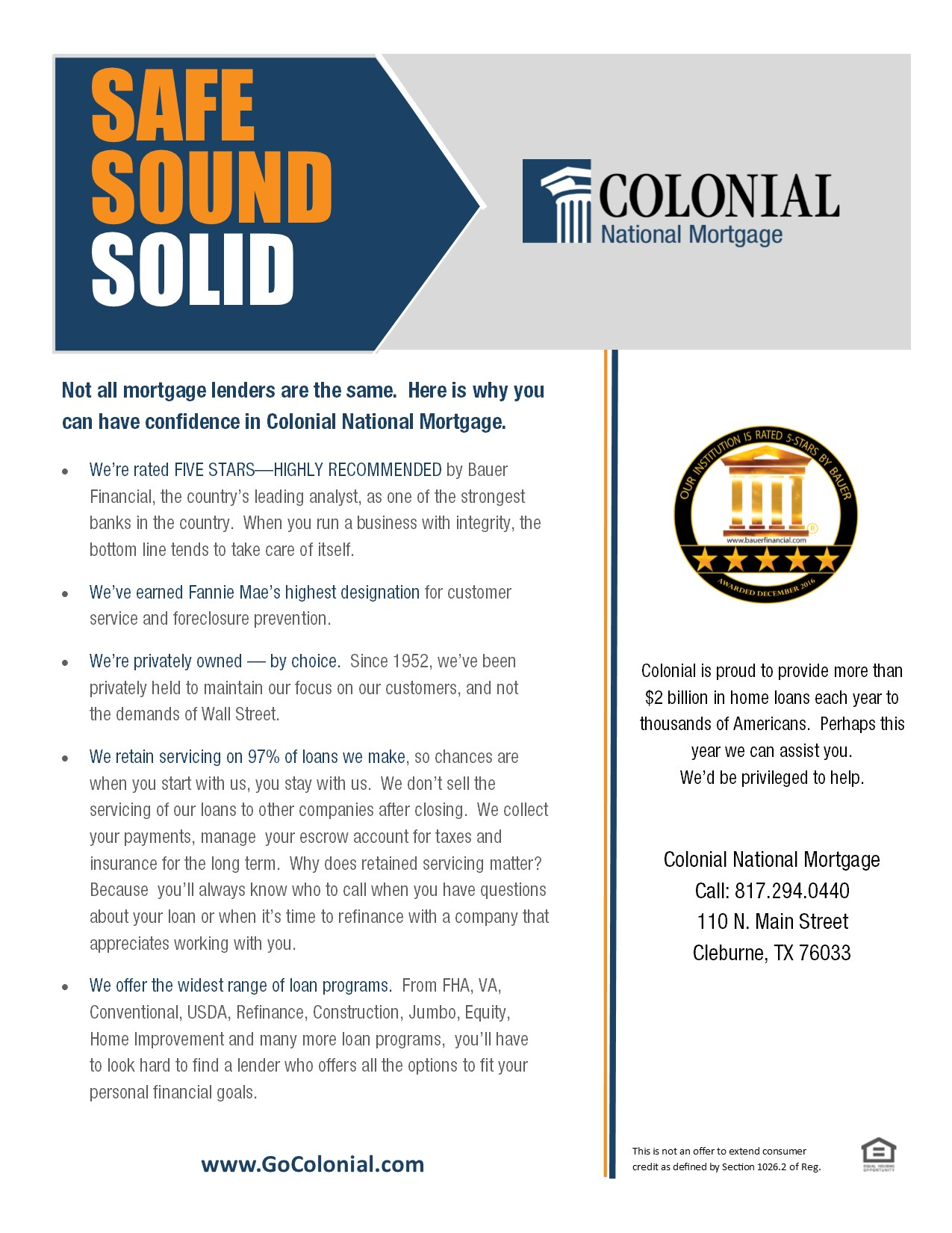 Colonial - Banking, Home Loans & Insurance image 2