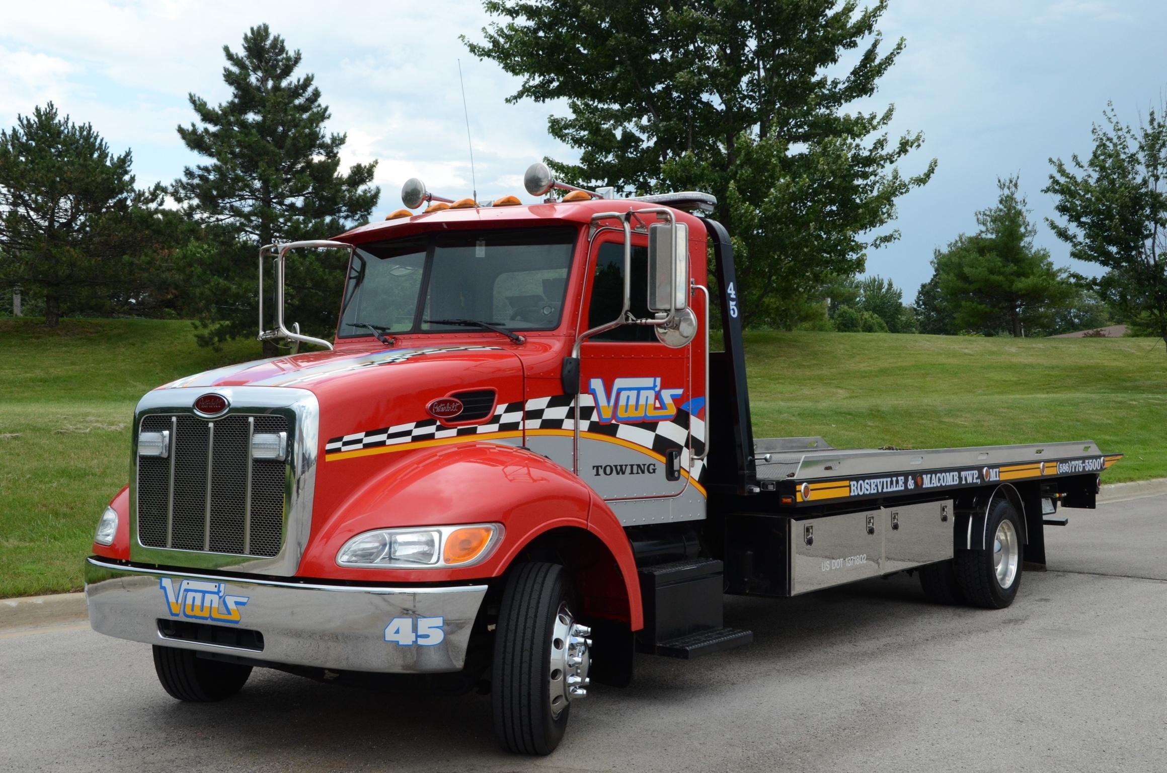 Van 39 S Towing Transport Roseville Mi Company Profile