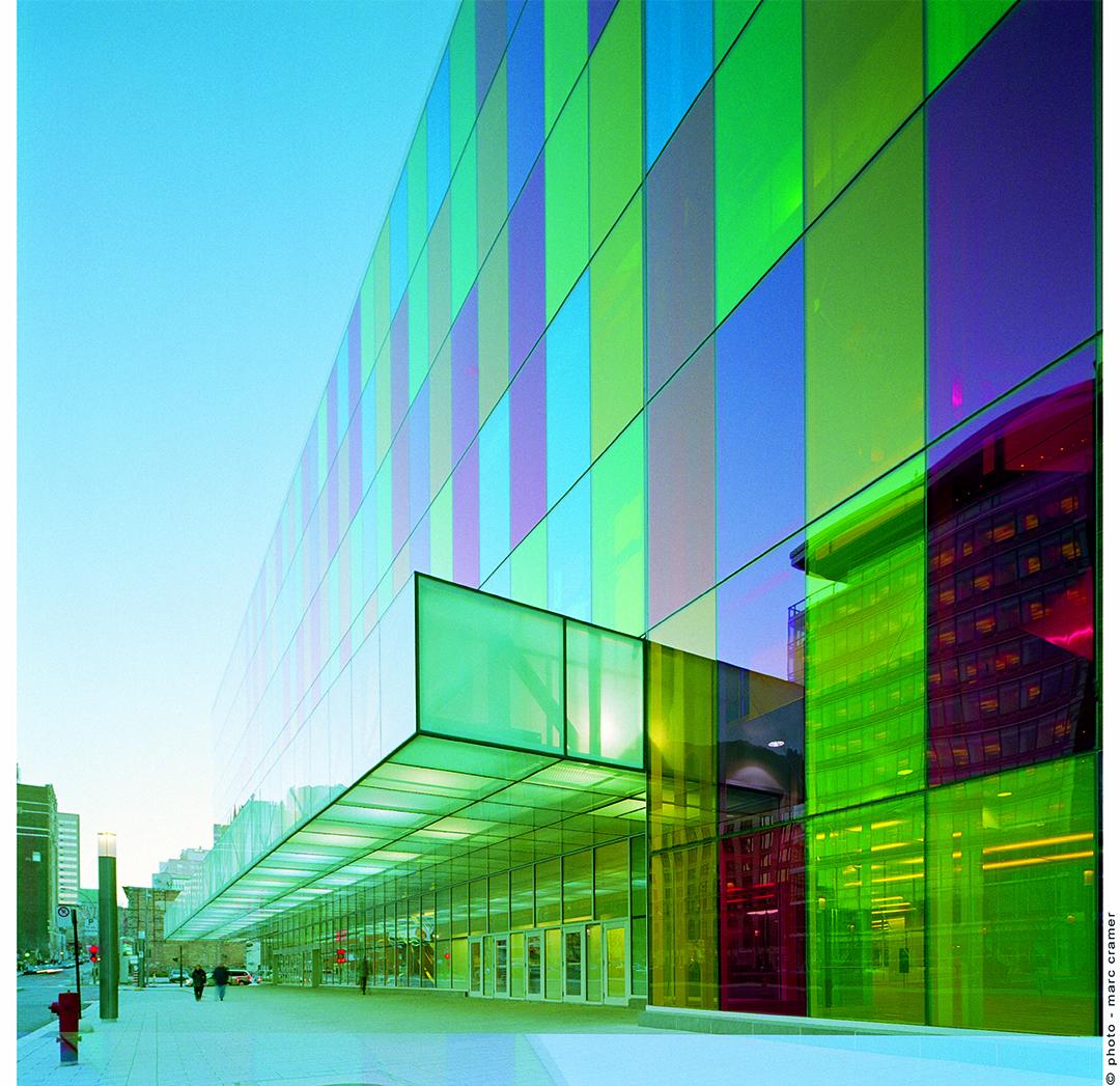 Aedifica à Montréal: Architecture - Palais des Congrès, Montréal