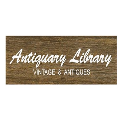 Antiquary Library  Vintage  Antiques