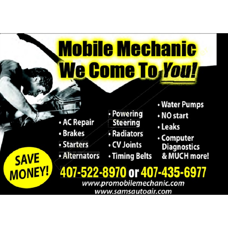 Professional Mobile Mechanic In Winter Garden Fl 34787 Citysearch