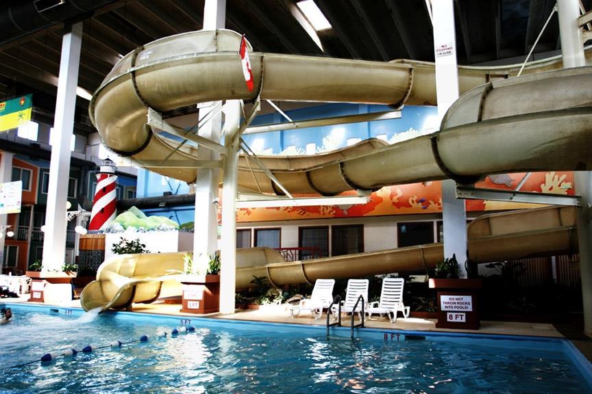 Best Western Seven Oaks Inn in Regina: Pool Water Slide