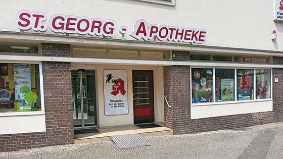 St. Georg-Apotheke, Beimsplatz 6 in Magdeburg