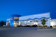 Northtown Honda Dealer Exterior - Conveniently Located on Niagara Falls Blvd. just north of the 290.