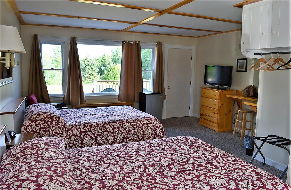 Eden Village Bar Harbor Motel Double Beds