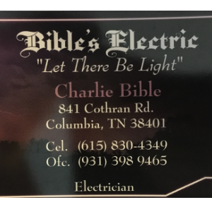 Bible's Electric image 1
