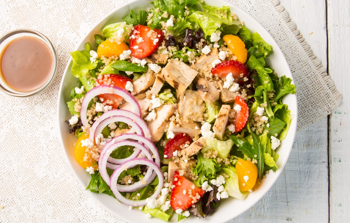 Quinoa Chicken Salad