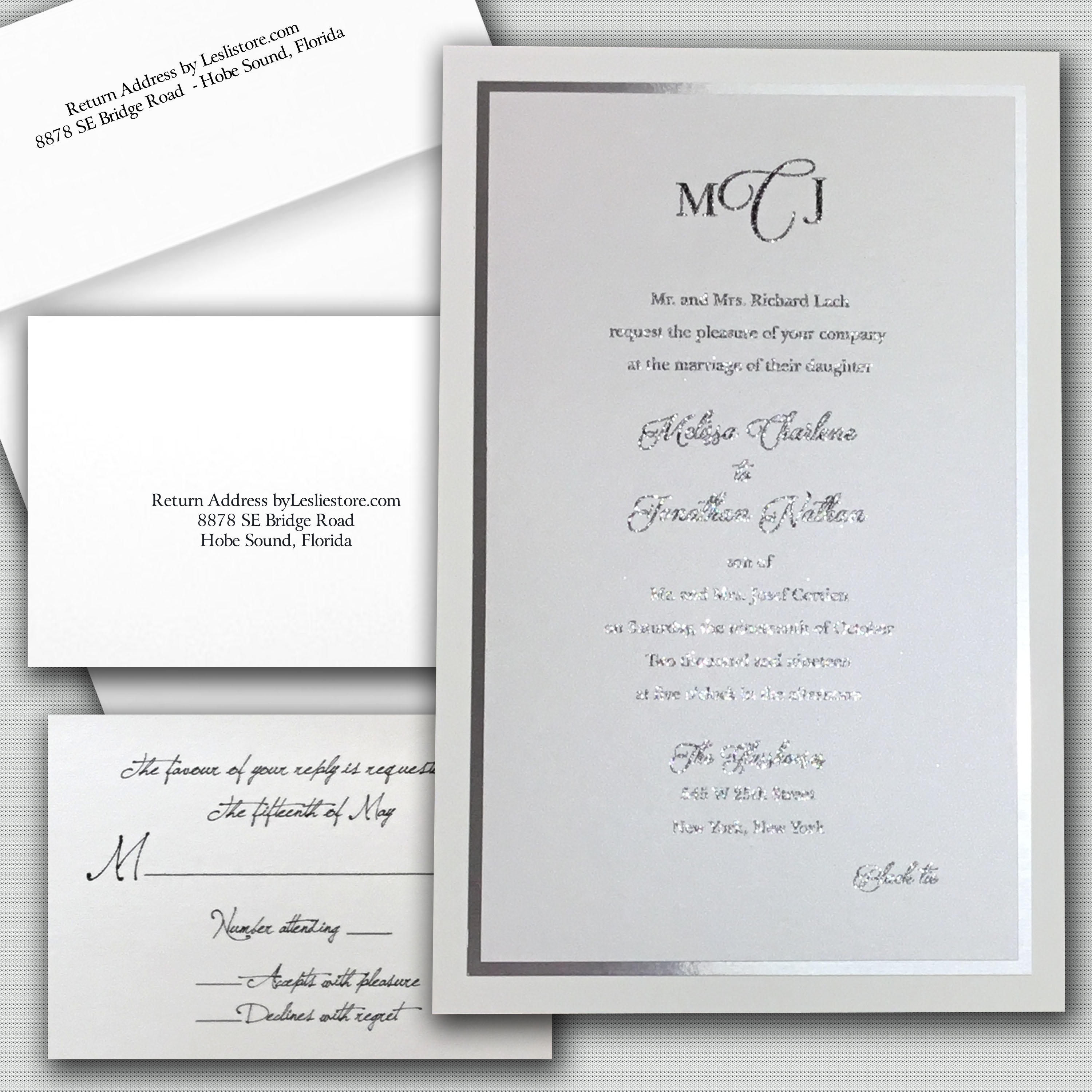 Leslie Store Wedding Invitations & Stationery image 6