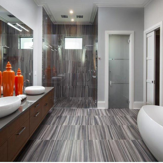 Stone and Water Bathroom Remodeling image 5