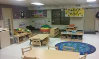 Our Toddler Classroom provides a warm and welcoming place for your toddler to learn and grow.