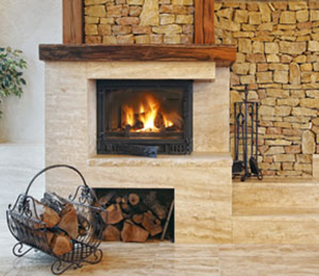 A grove chimney sweep wood burning stoves building for Wood burning fireplace construction