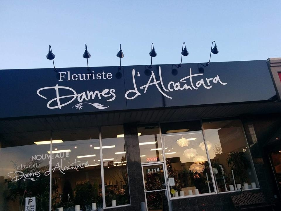 Fleuriste Dames D'Alcantara à Montréal