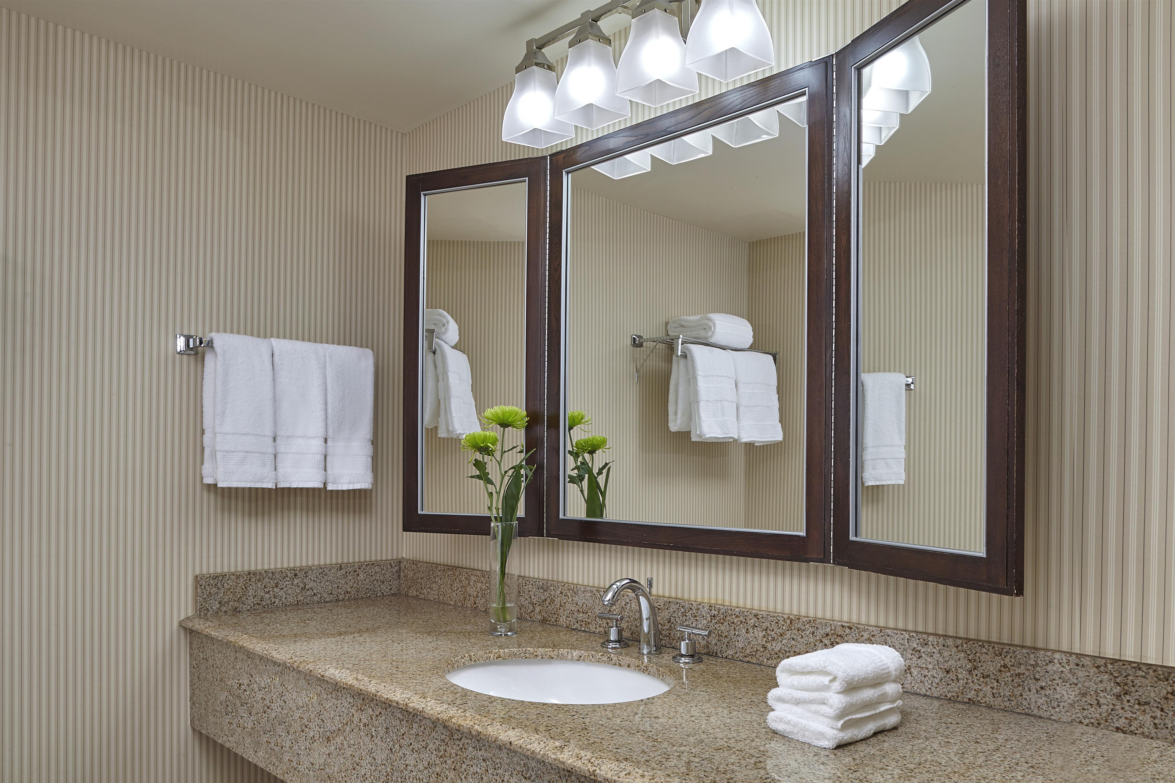 Sheraton Vancouver Guildford Hotel in Surrey: Standard Guestroom Bathroom