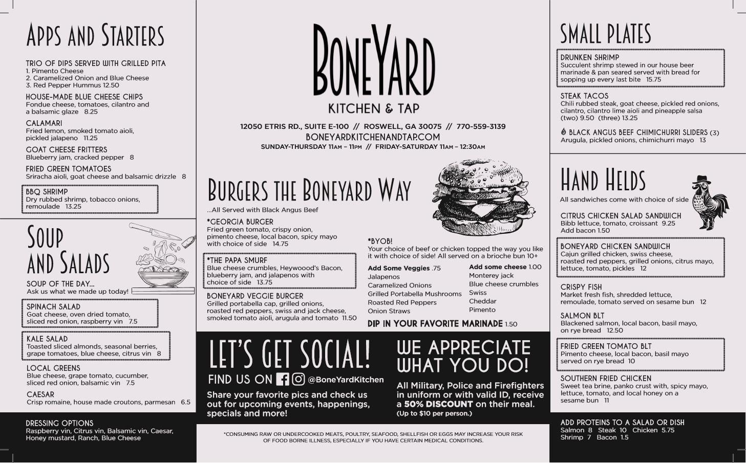 BoneYard Kitchen & Tap image 6