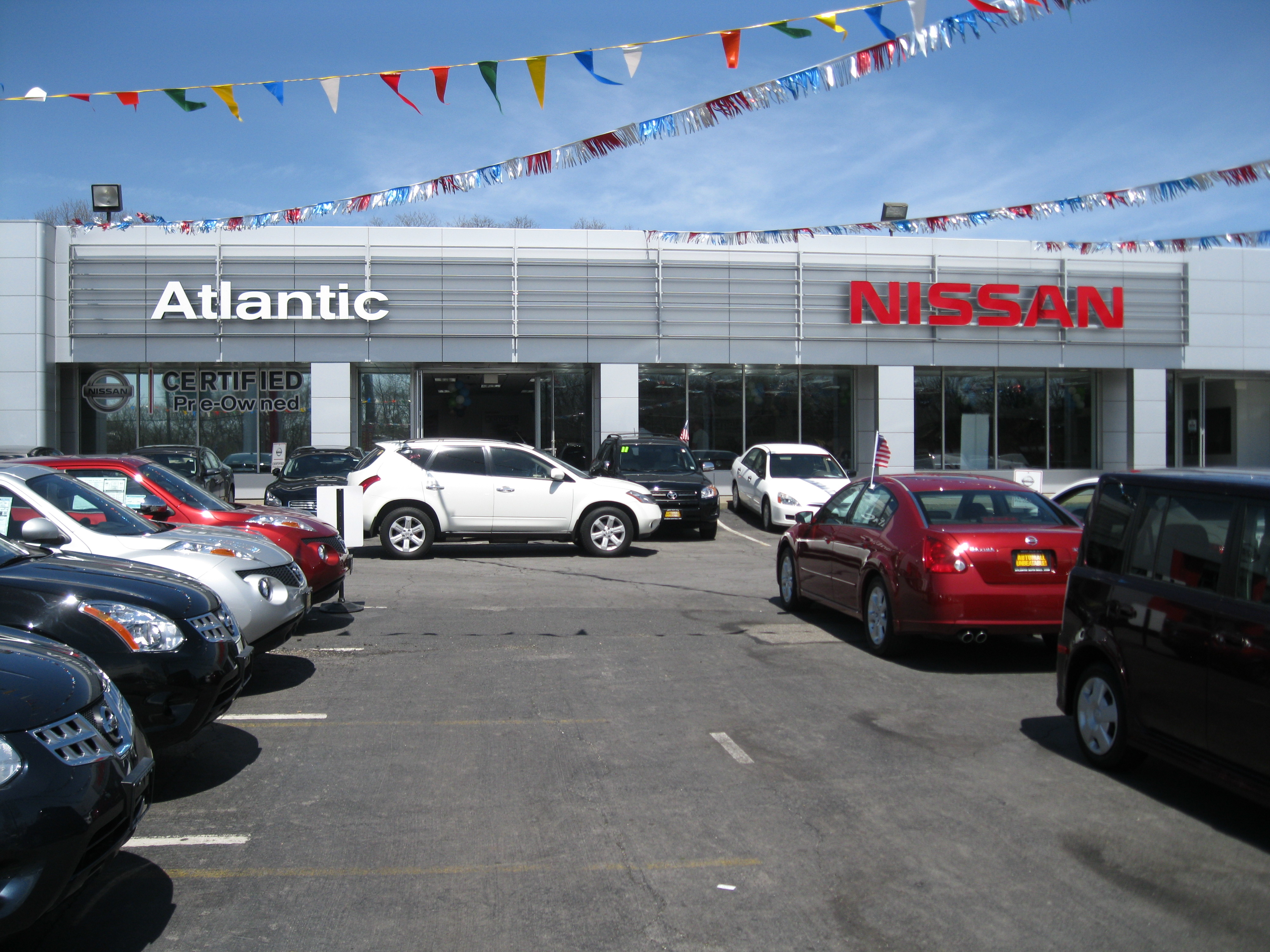 Atlantic Nissan 1521 Sunrise Highway Bay Shore NY Auto Dealers